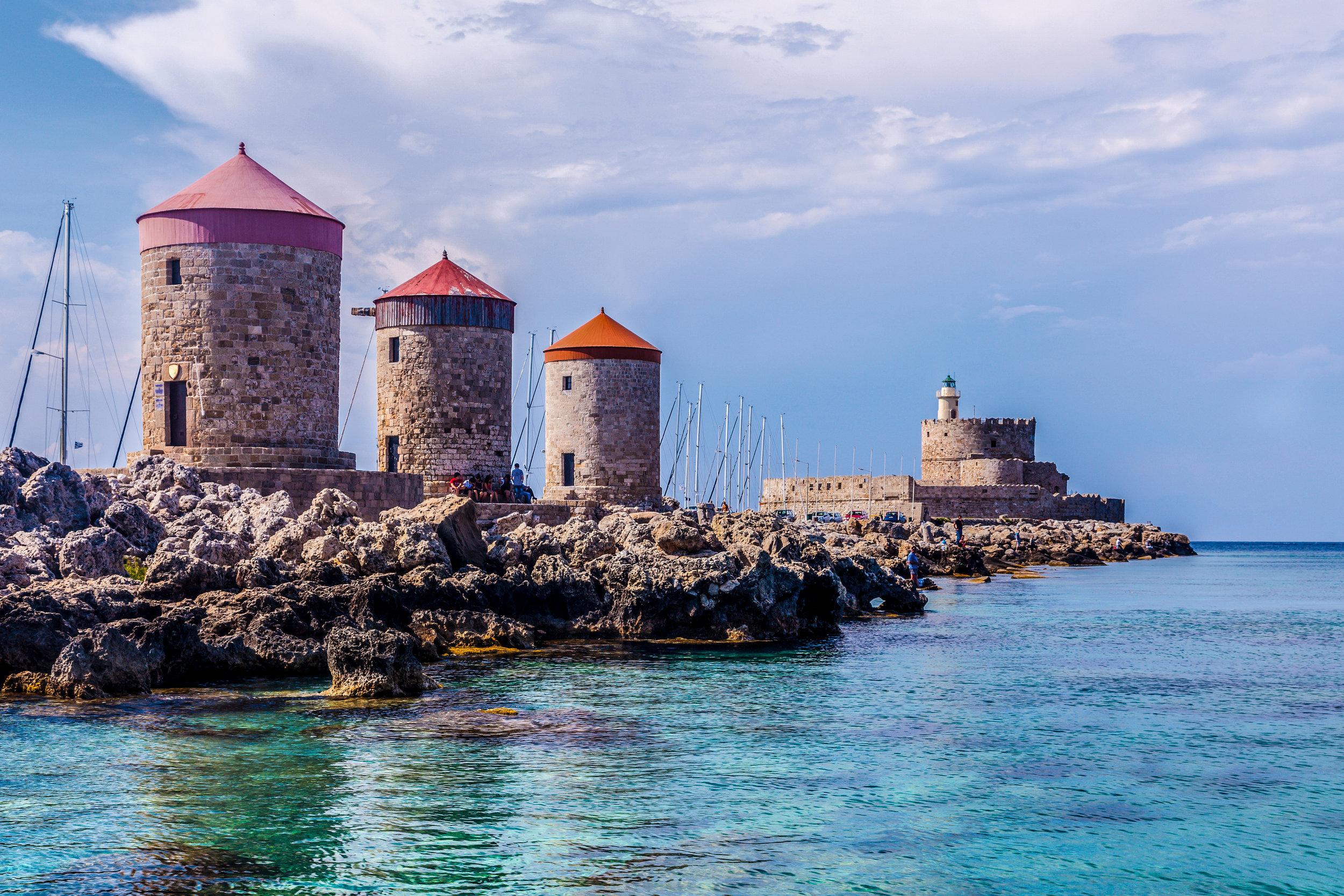 A Knights' Island - Leisurely walking on the Greek Island of RhodesFrom £1135