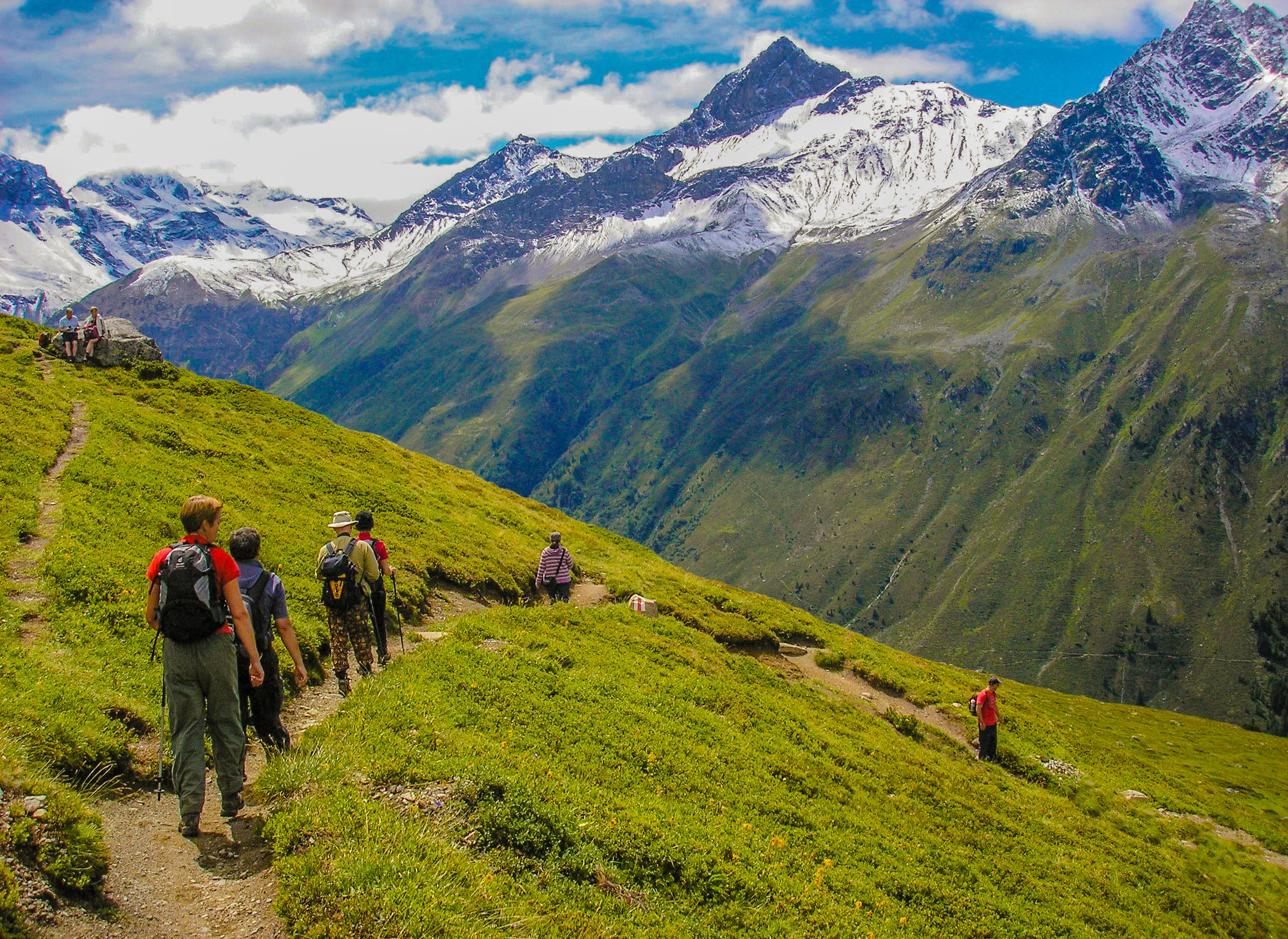 Klosters - Magnificent walks from a Swiss alpine idyllicFrom £1045