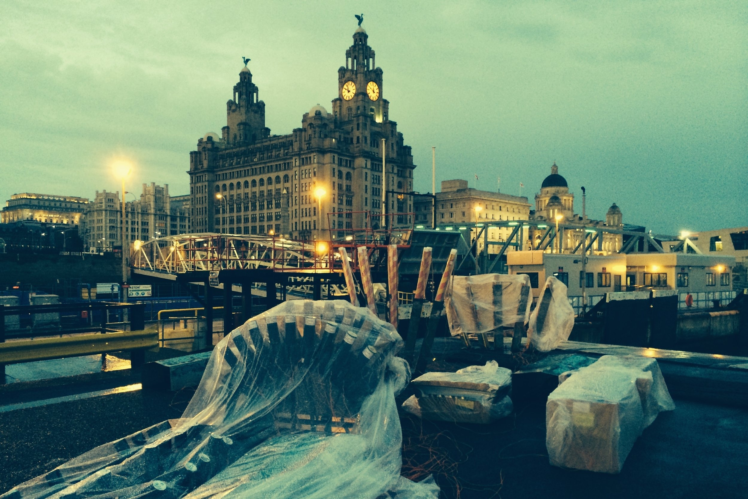 The City of liverpool -