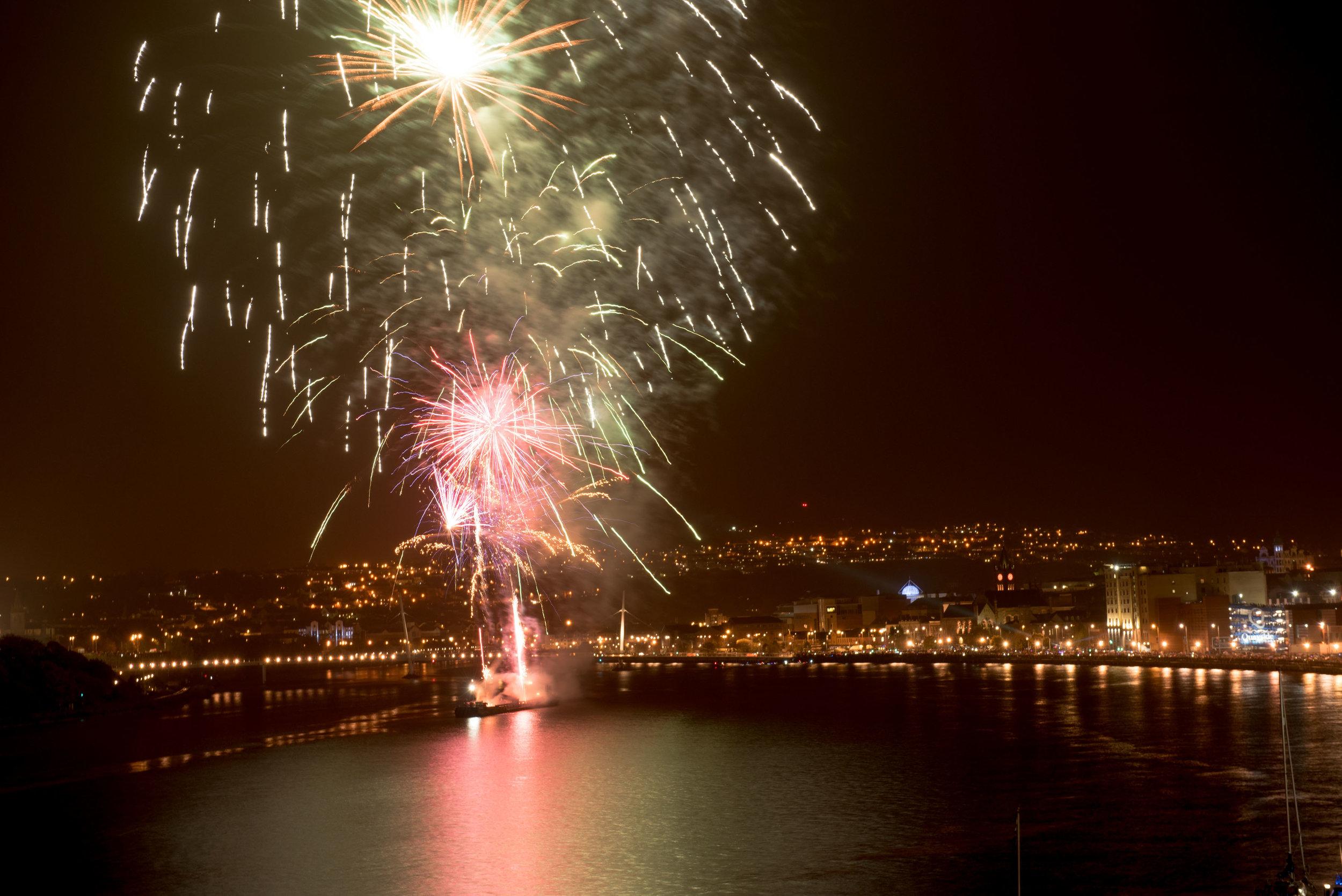 Derry Halloween Fireworks