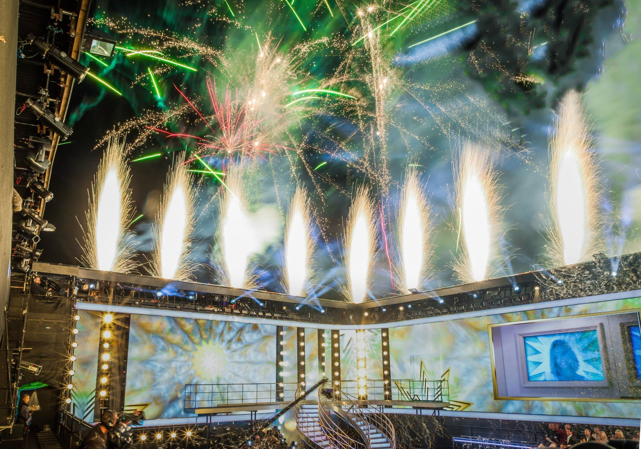 Big Brother - Continuous product development, new firing locations, the latest technology and our excellent relationship with the show producers means the fireworks continually evolve. Every winner since 2002 has enjoyed a spectacular display from Star Fireworks.Contact us for T.V. fireworks.