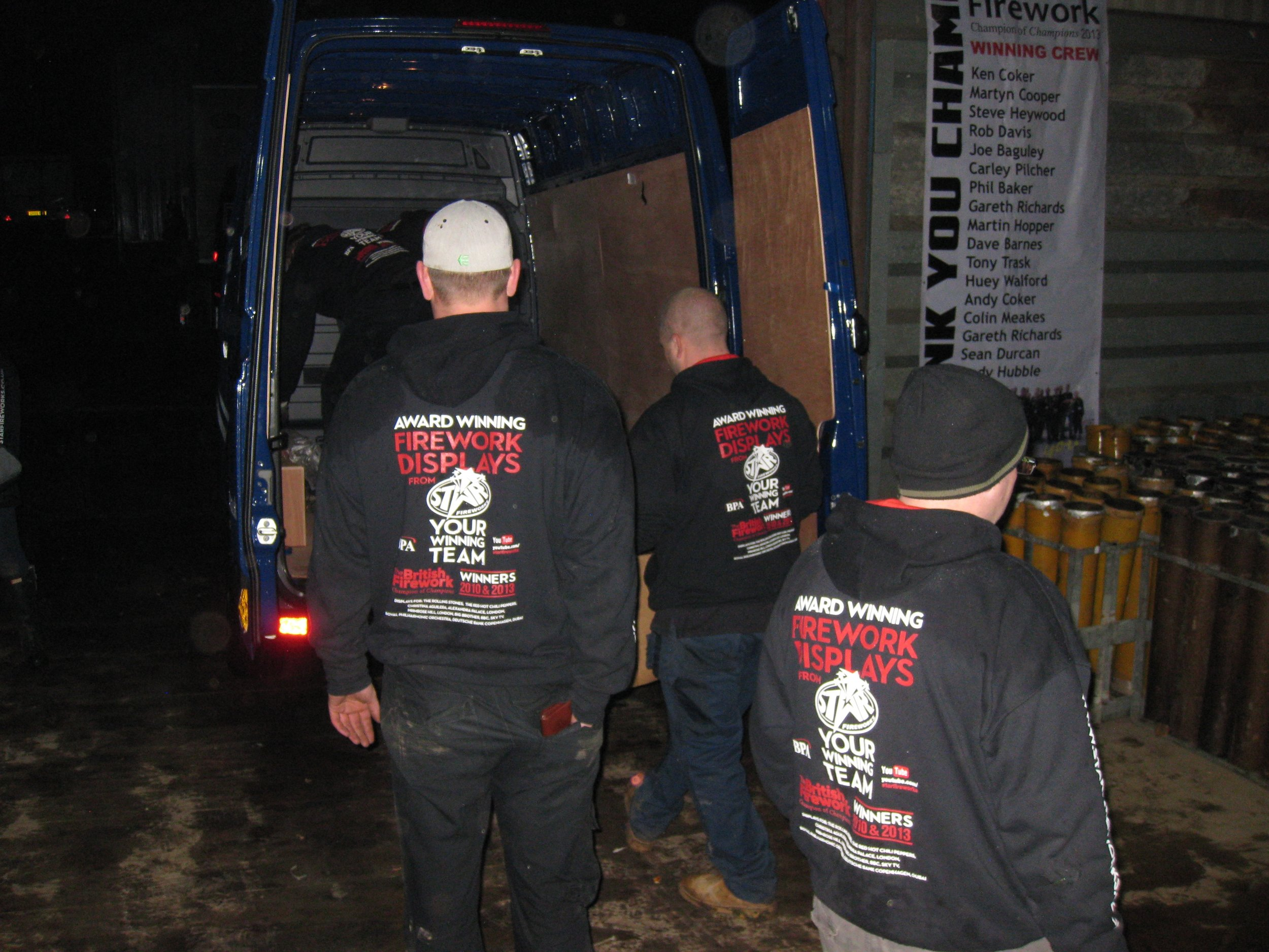 Star Fireworks depot - busiest night of the year.jpg