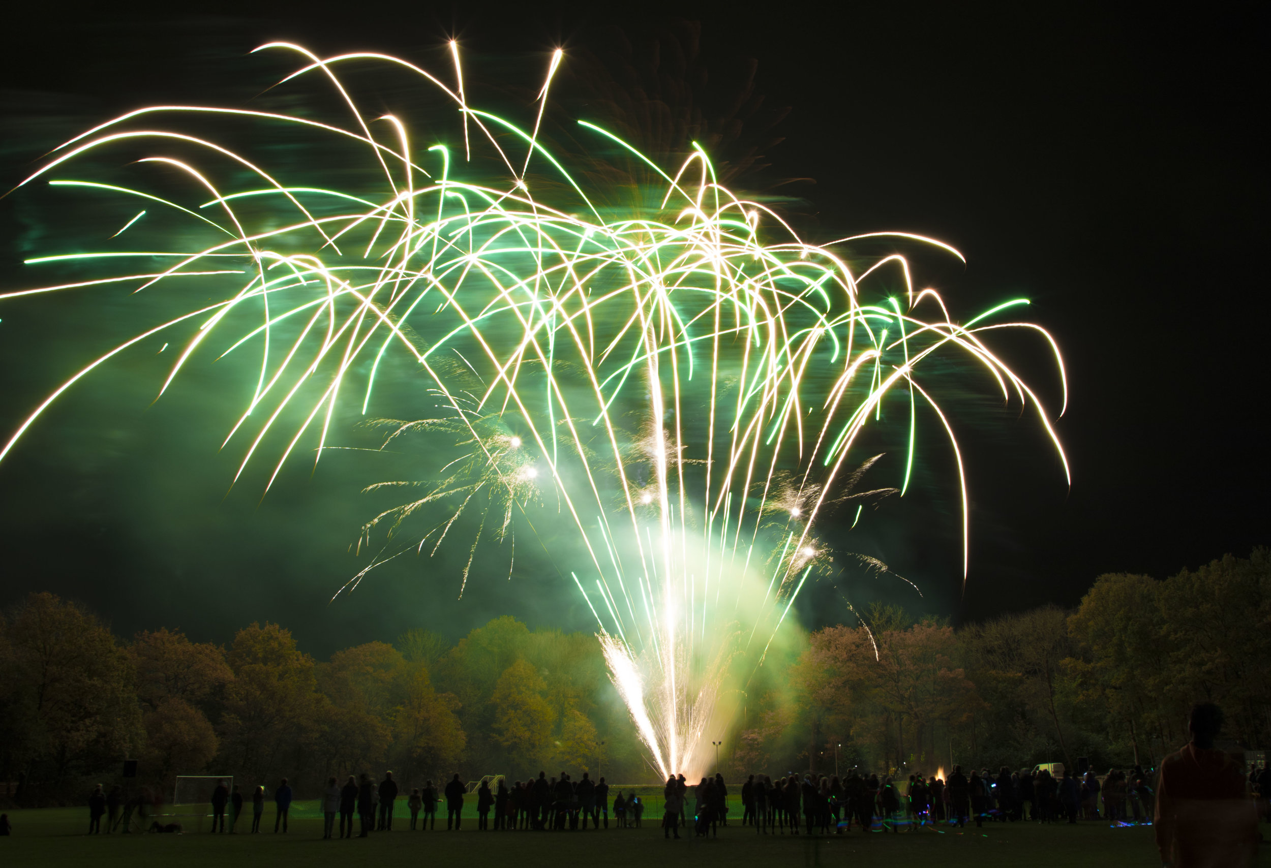 Stunning low noise fireworks from Star Fireworks