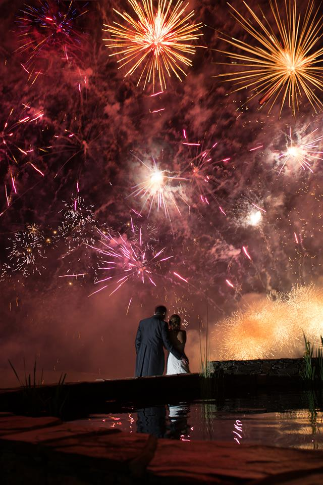 6.Wedding Reception Firework Displays - Whether you loved or hated Harry and Meghan's Christmas card, there is no denying that Firework Displays will be an essential element of sophisticated two thousand and nineteen weddings.Andy Hubble creative director of Star Fireworks says,