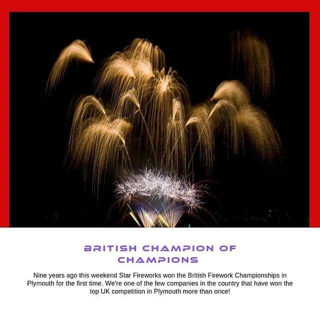 #Championship #Fireworks