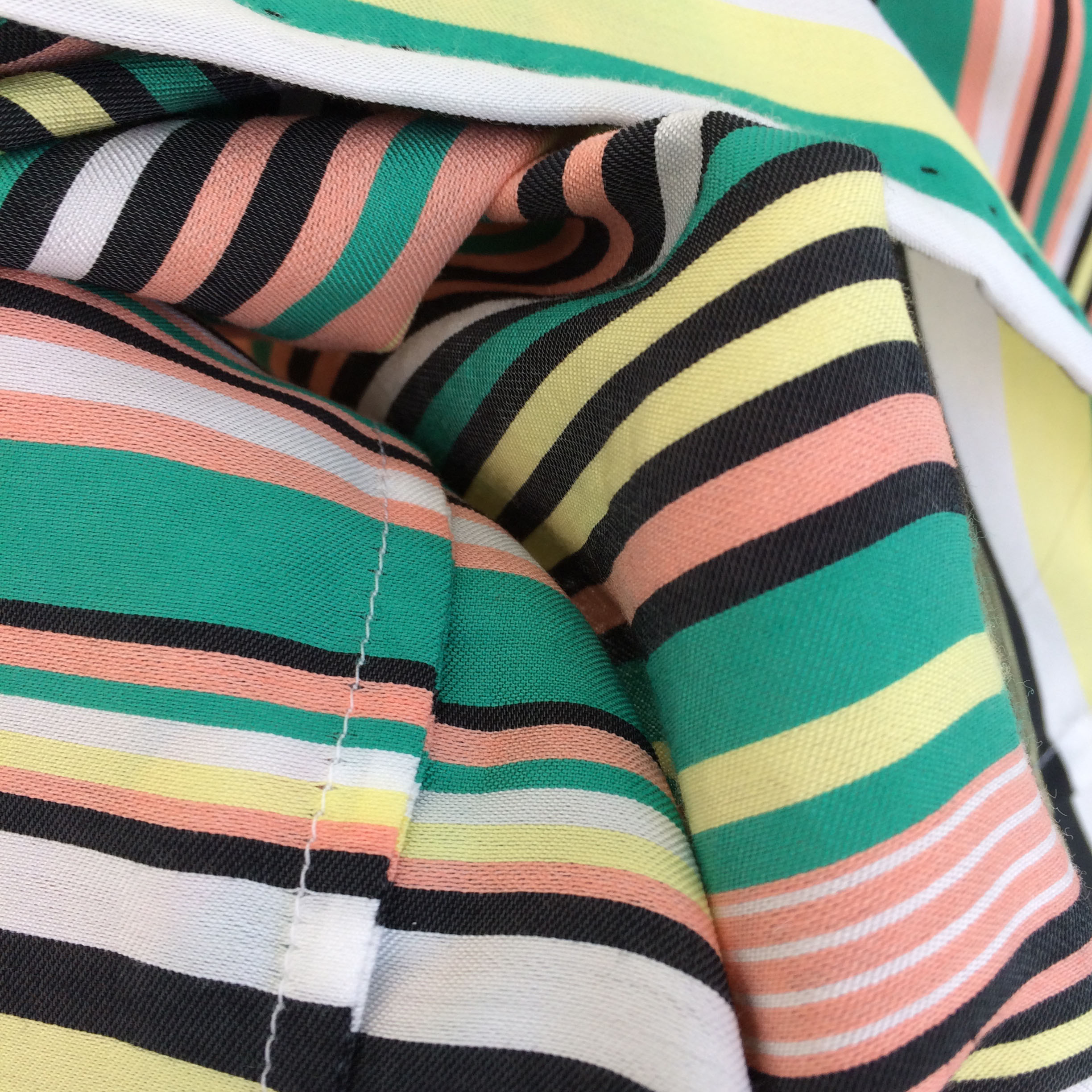 My favourite French seams - robust and tidy on the inside – so satisfying!