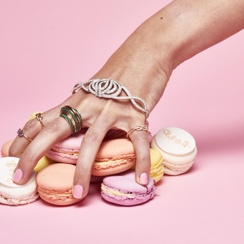 Ohlala Macarons and Diamonds