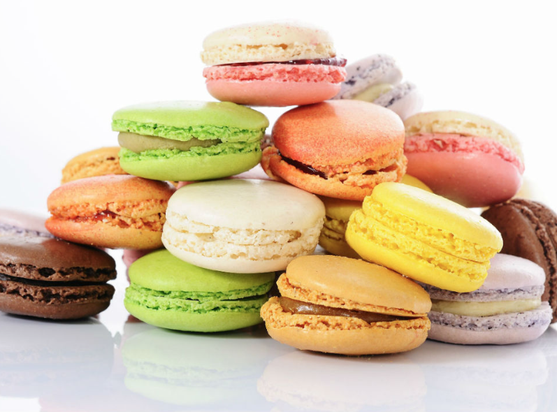 Ohlala Macarons in Marie Claire
