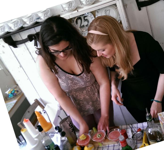 Ohlala mixology and macarons class