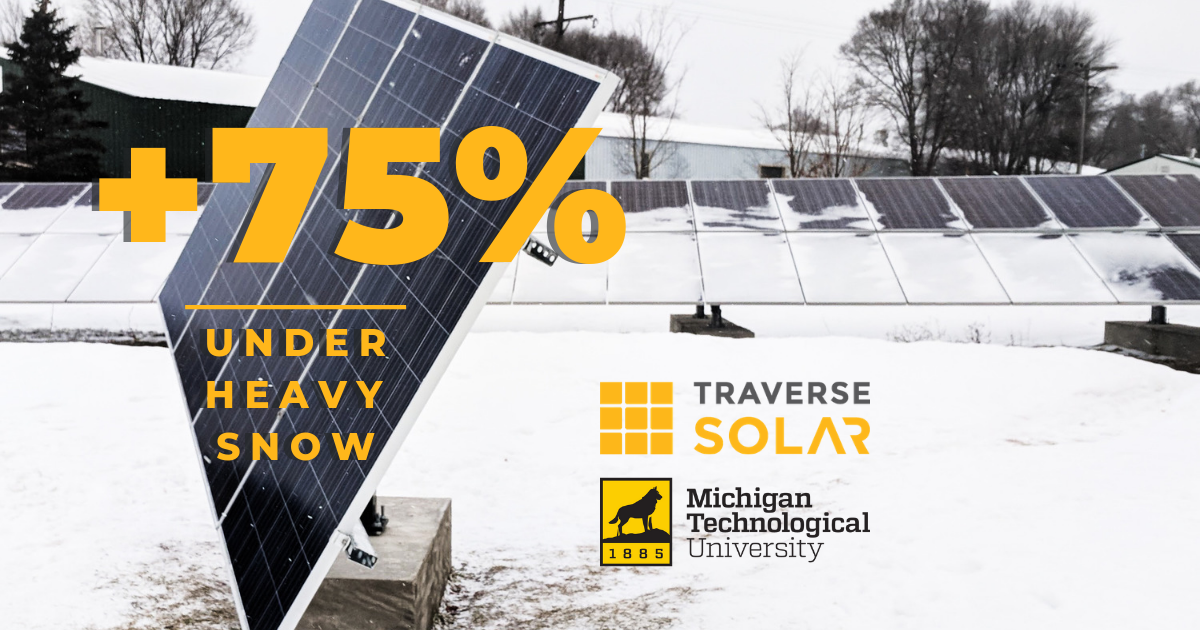 Michigan Technological University & Traverse Solar - Research Partnership