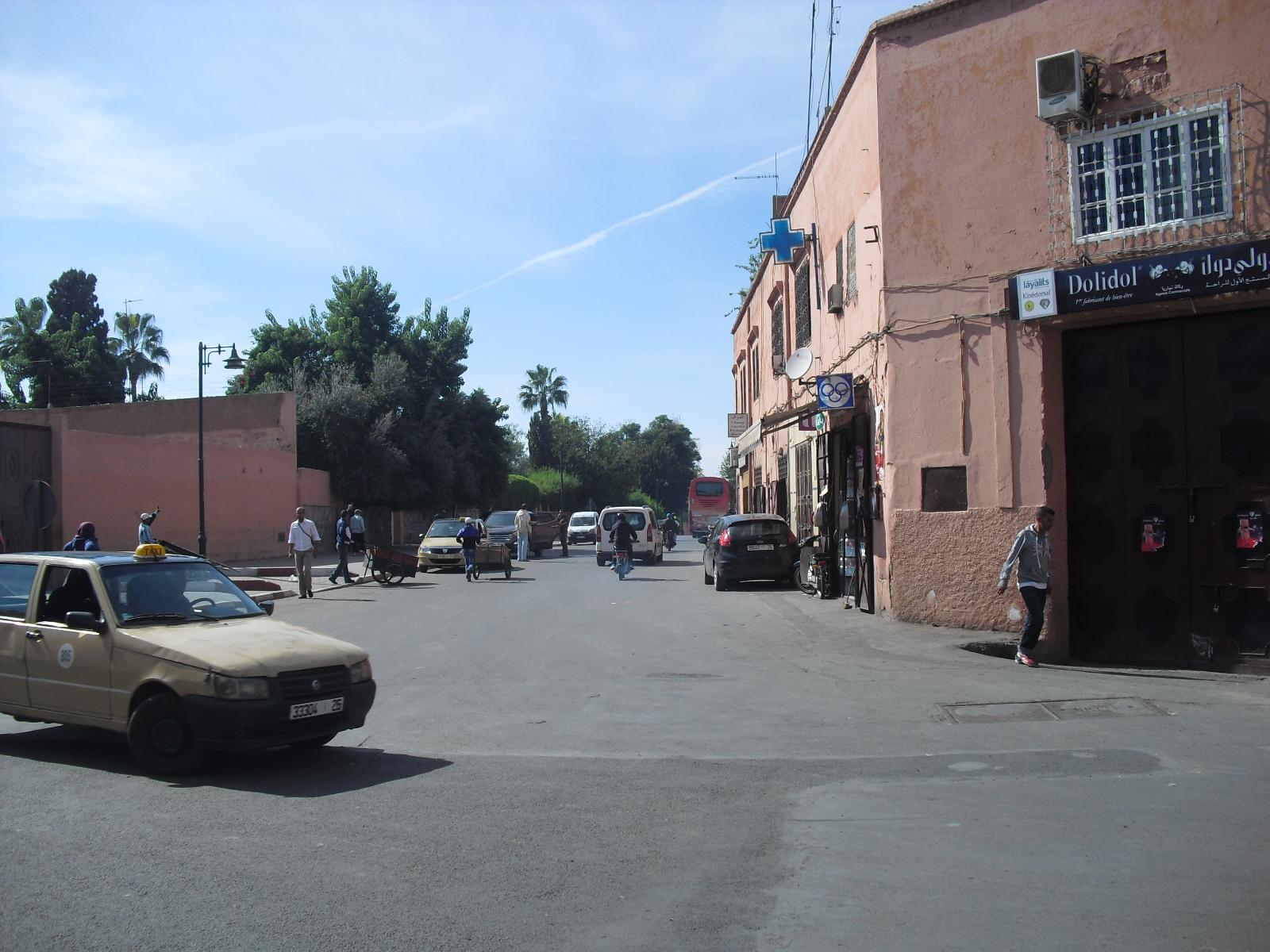 Busy Street, Marrakech.JPG