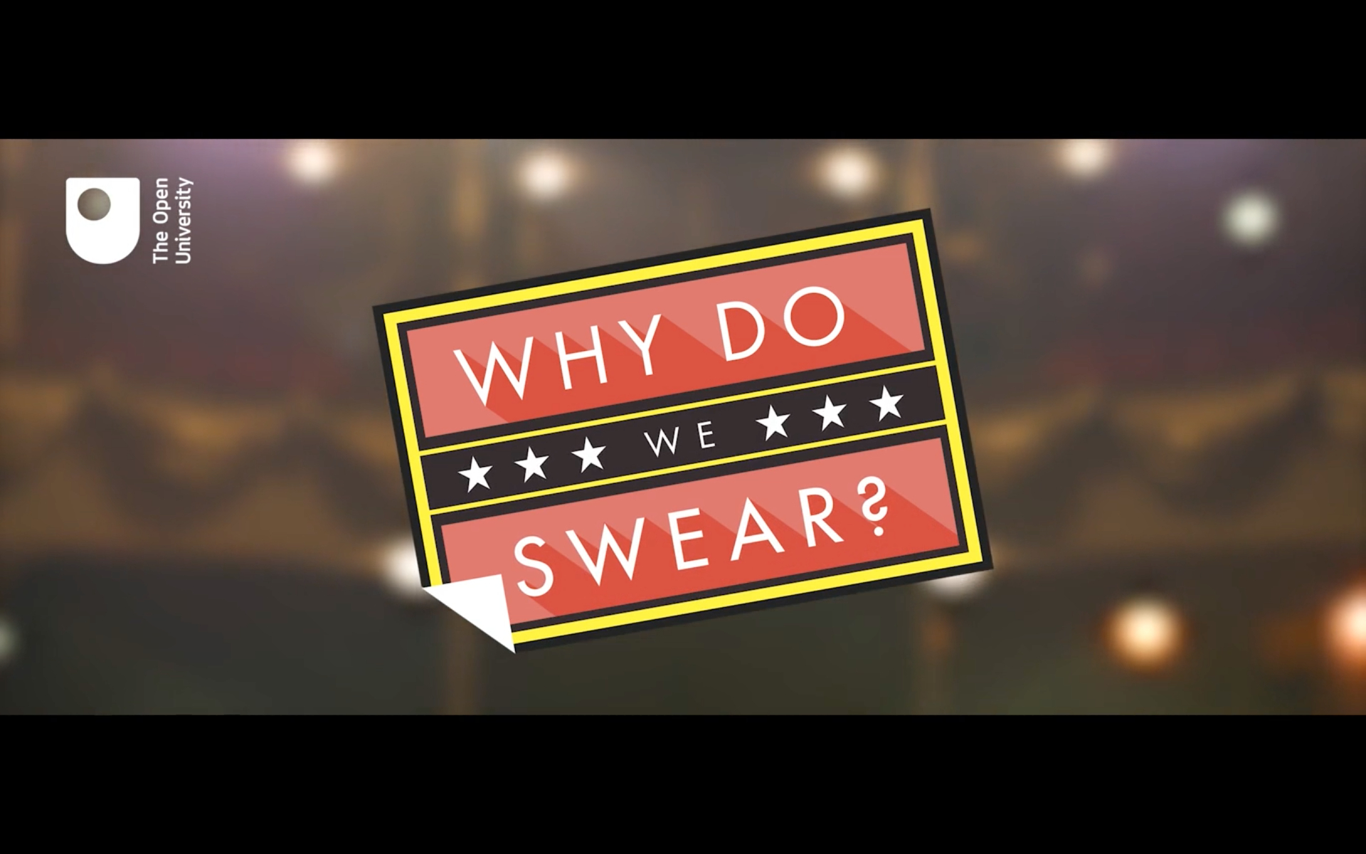 Why Do We Swear?
