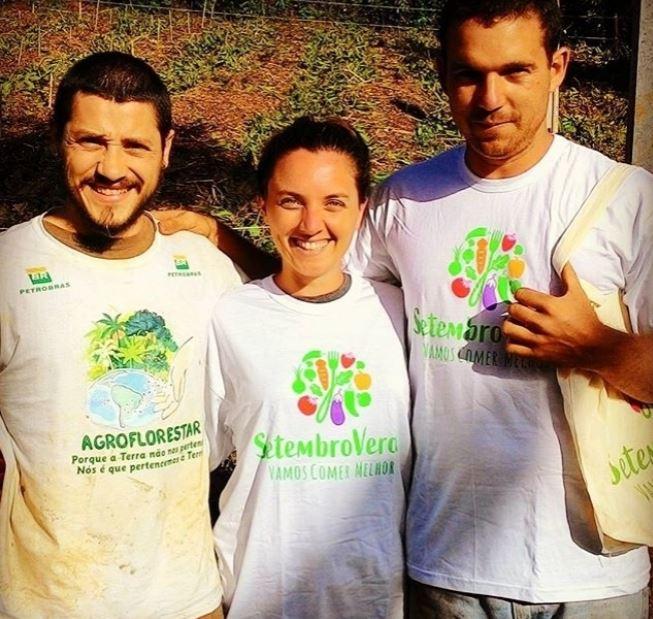 Sítio Arvor(e)Ser promoveu o Curso de Agrofloresta Sintrópica    em apoio ao Setembro Verde