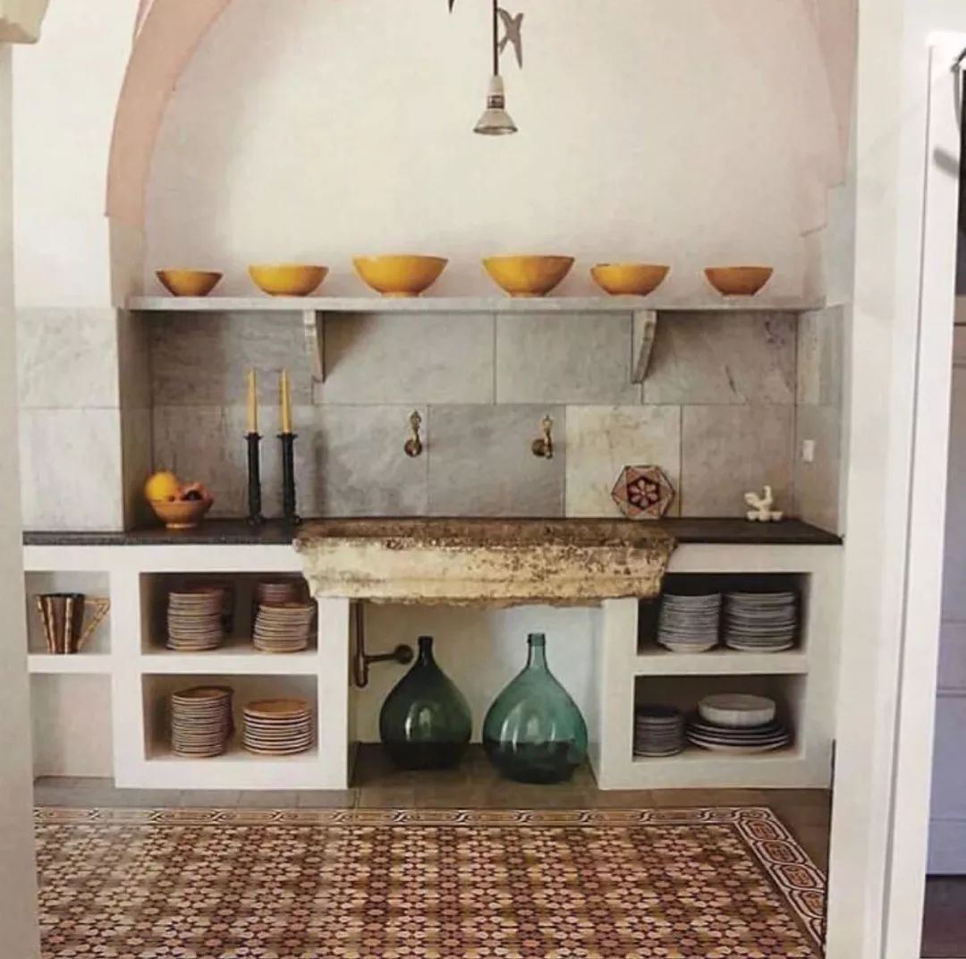 Kitchen from Puglia, Italy