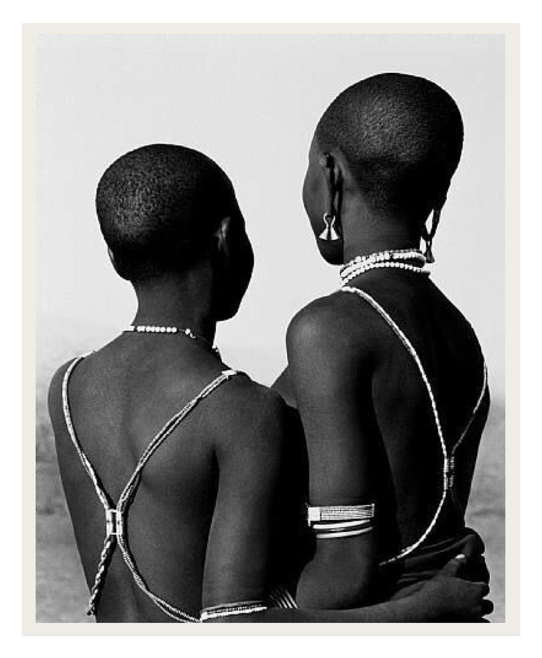 Nandoye & Nangini by Herb Ritts, 1993