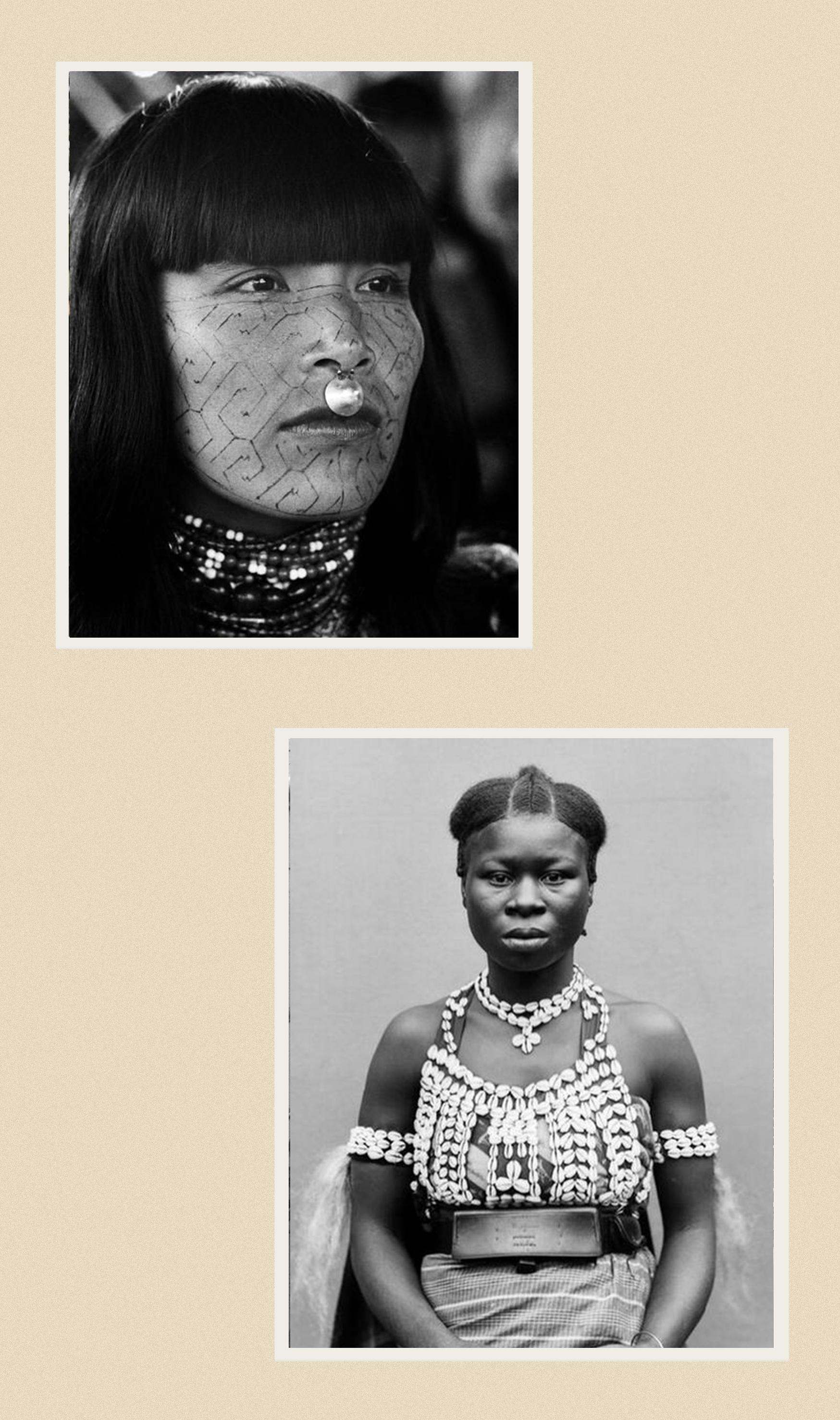 A Shipibo woman photographed by Thomas Hoepker, 1962 Courtesy of Musée du Quai Branly