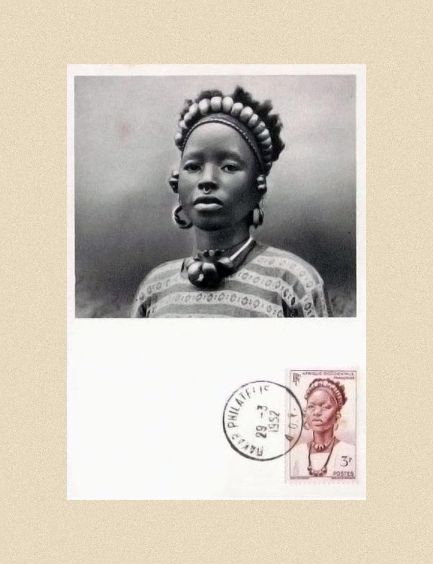 Djenne Sudan woman, 1952