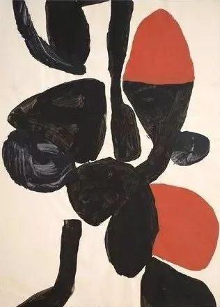 Artwork by Trevor Belled, Gouache on paper