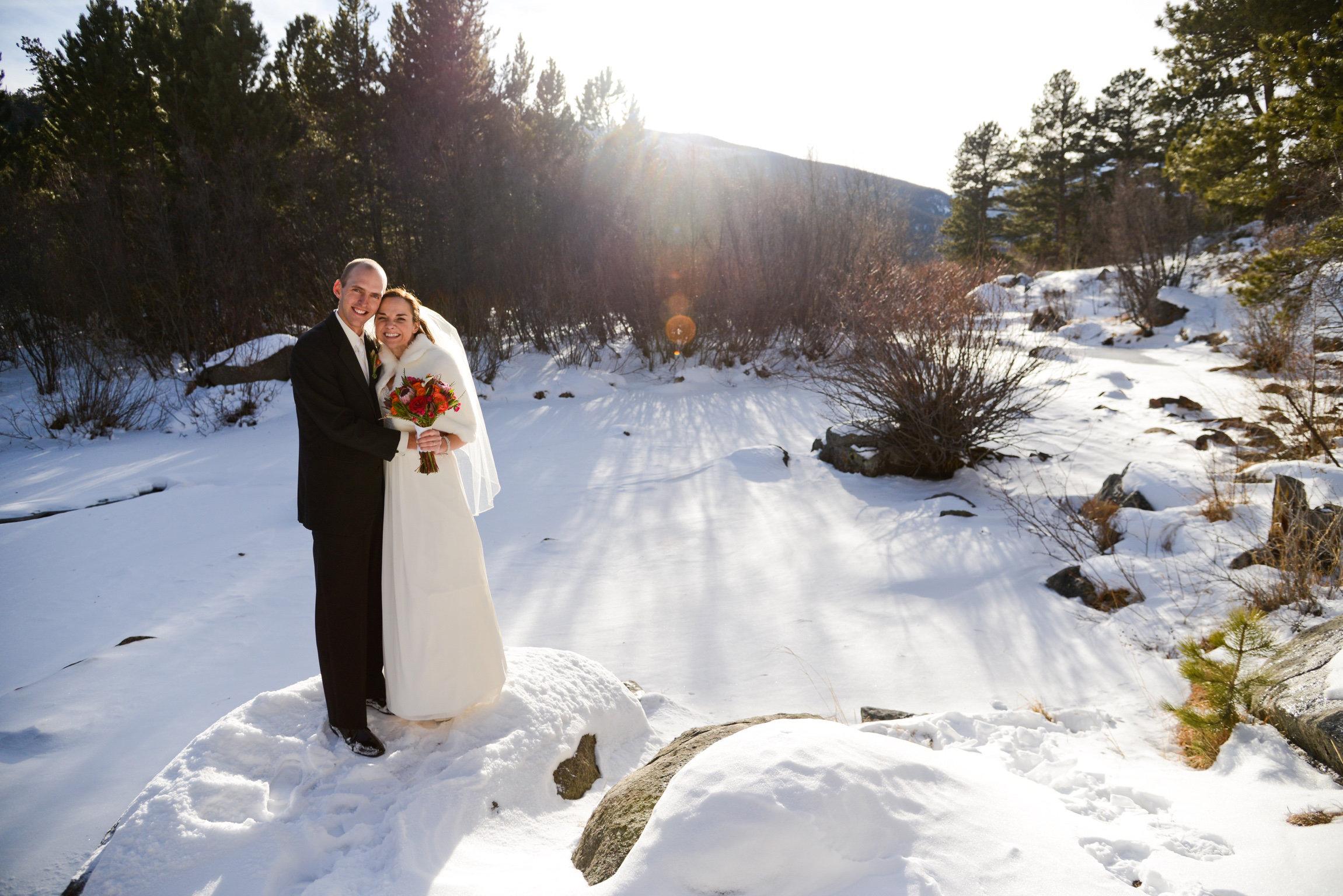 We were married in Colorado in 2012