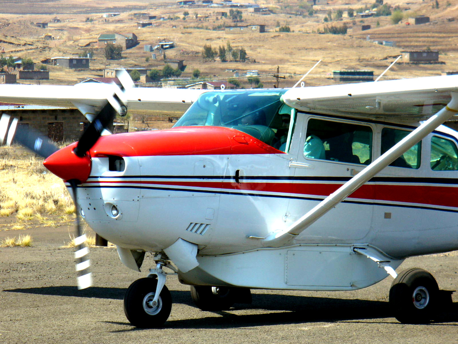 Visits like this from MAF to Semonkong made me long for this type of flying