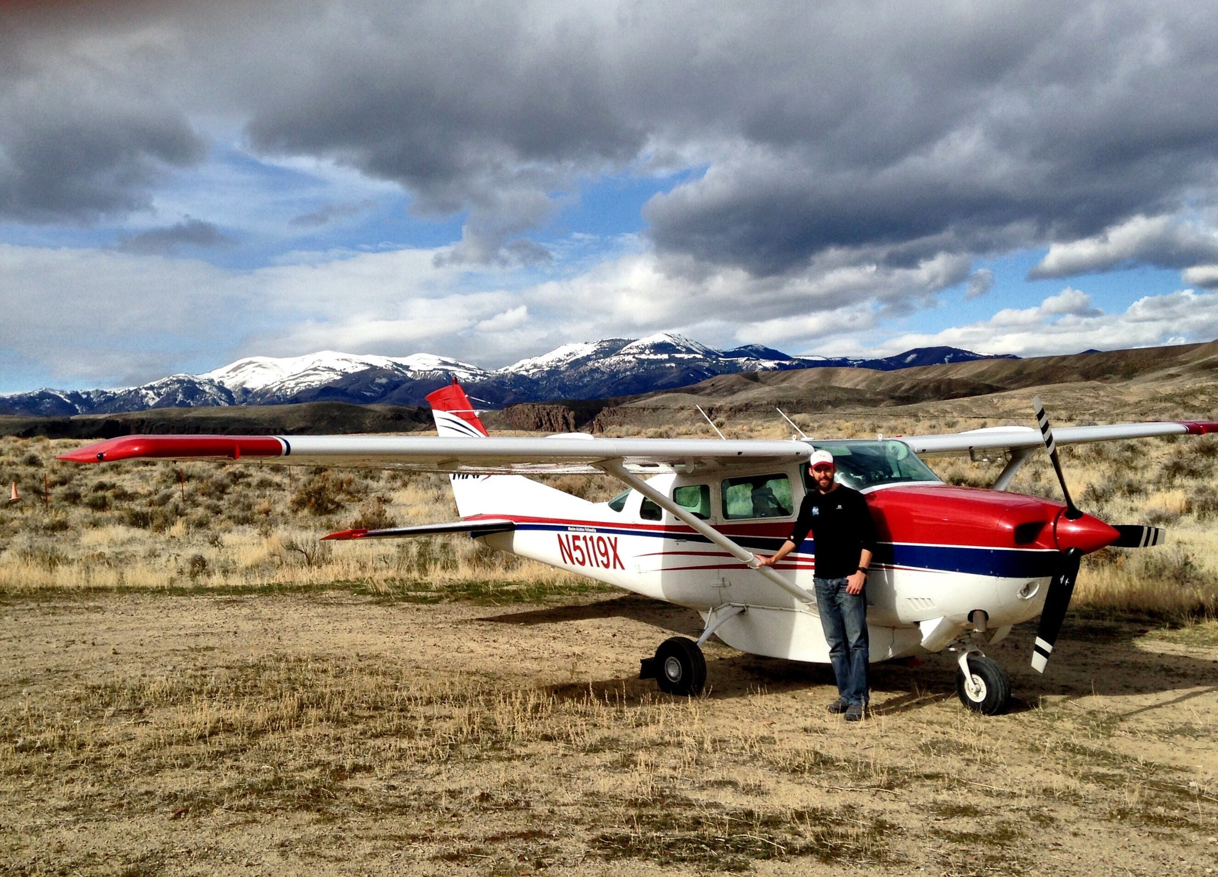 The airstrips in Idaho have the best names. This was at a strip called 'Hesitation.'