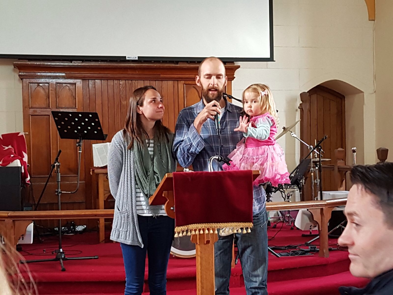 Speaking at our home church in Bray, Dublin