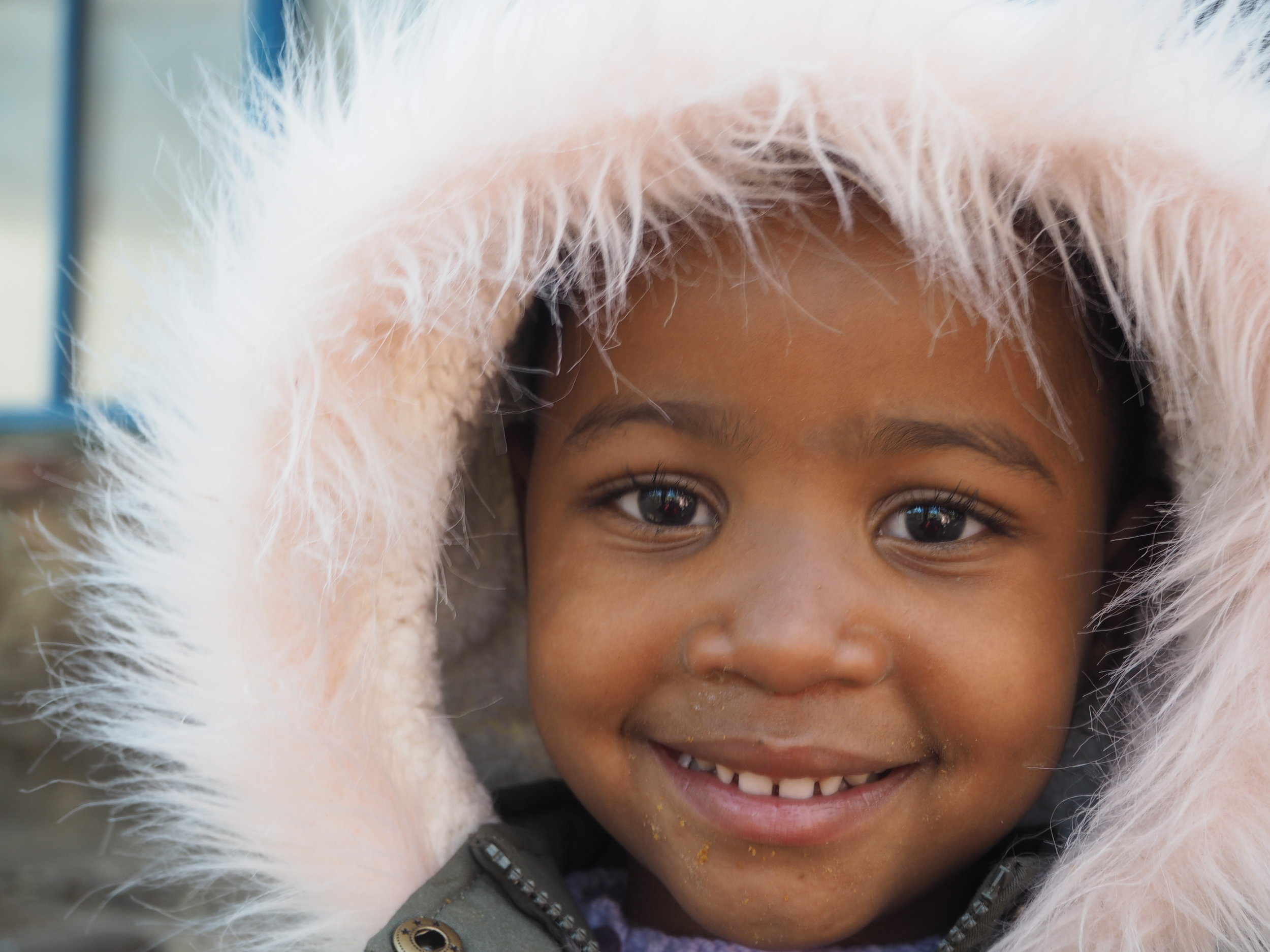 One of Jane's friends at Pulane Children's Centre