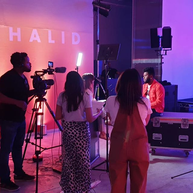Last week we provided production for @thegr8khalid at @_elephantwest #livesound #lighting #eventprofs #music #khalid #sony #production