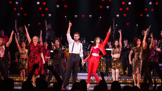 """Broadway stage production """"On your feet!"""""""