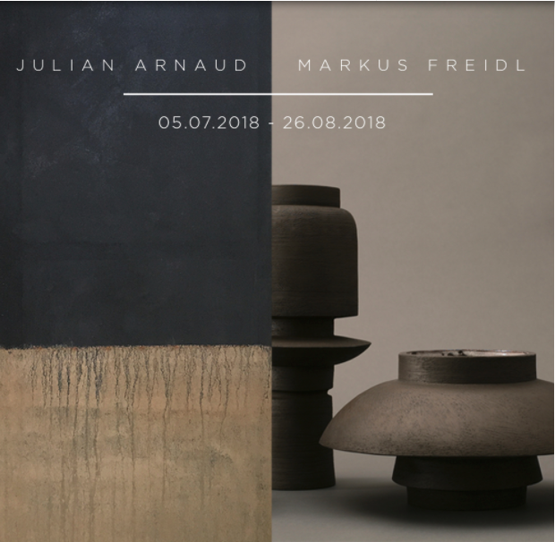 J. ARNAUD & M. FREIDL     05/07/2018  Modern Shapes is pleased to present  Julian Arnaud & Markus Freidl a multidiciplinary summer exhibtion  OPENING July 05  from 17:00 to 22:00  EXHIBITION from July 05 till August 26 Thursday - Friday - Saturday - Sunday From 13:00 to 18:00  MODERN SHAPES GALLERY Kloosterstraat 16 2000 Antwerpen