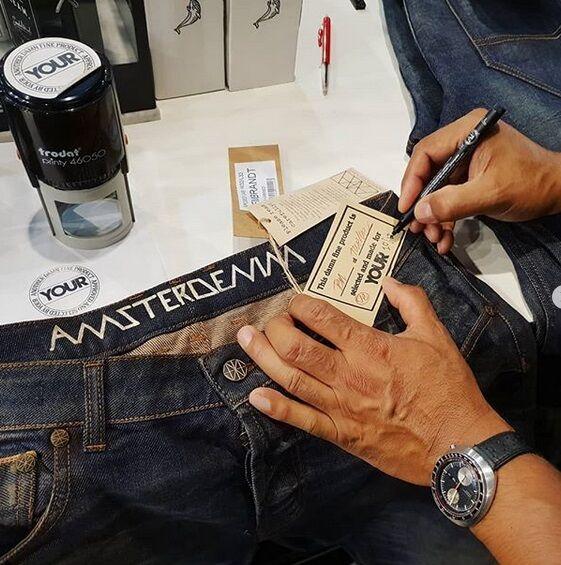 #antwerpfashionweekend #yourantwerp #amsterdenimtanning #amsterdenim #amsterdenim_stores #limitededition #selvedge #denim #tanned #jeans