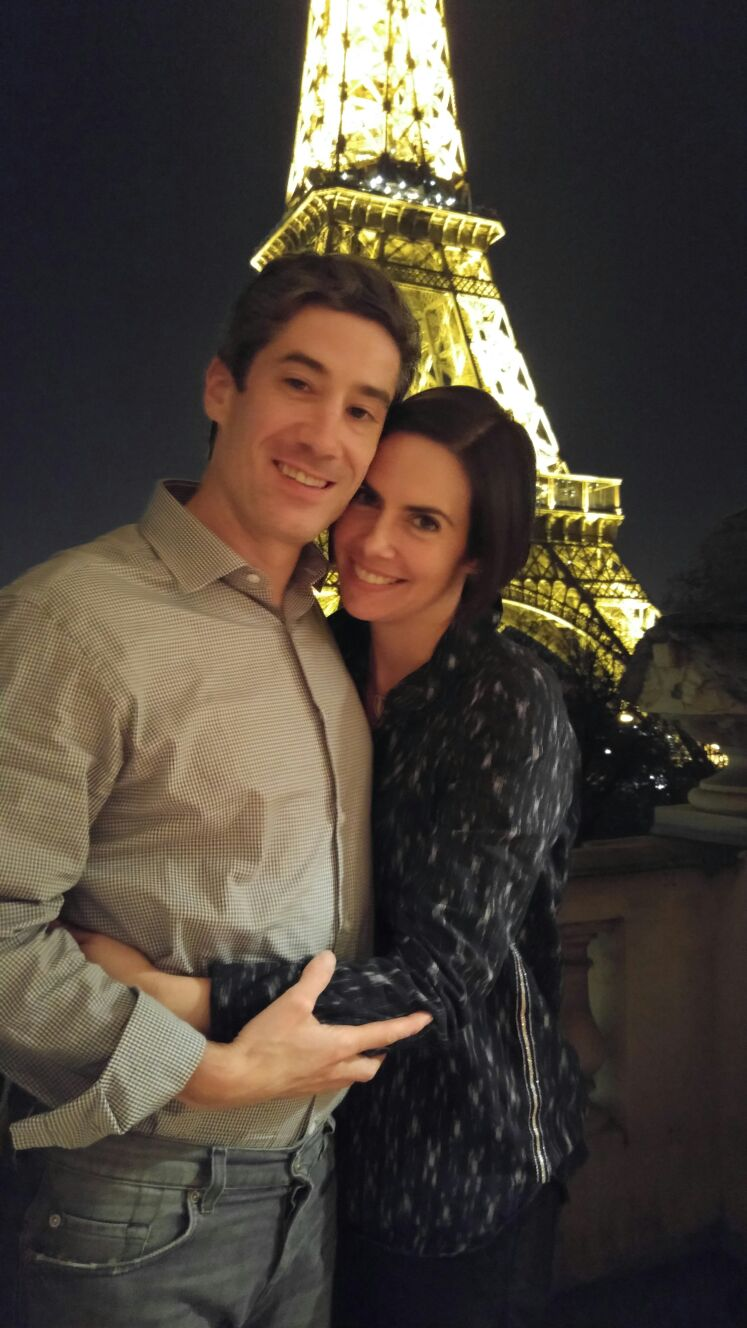 Byron Cocke and Catherine in Paris, France