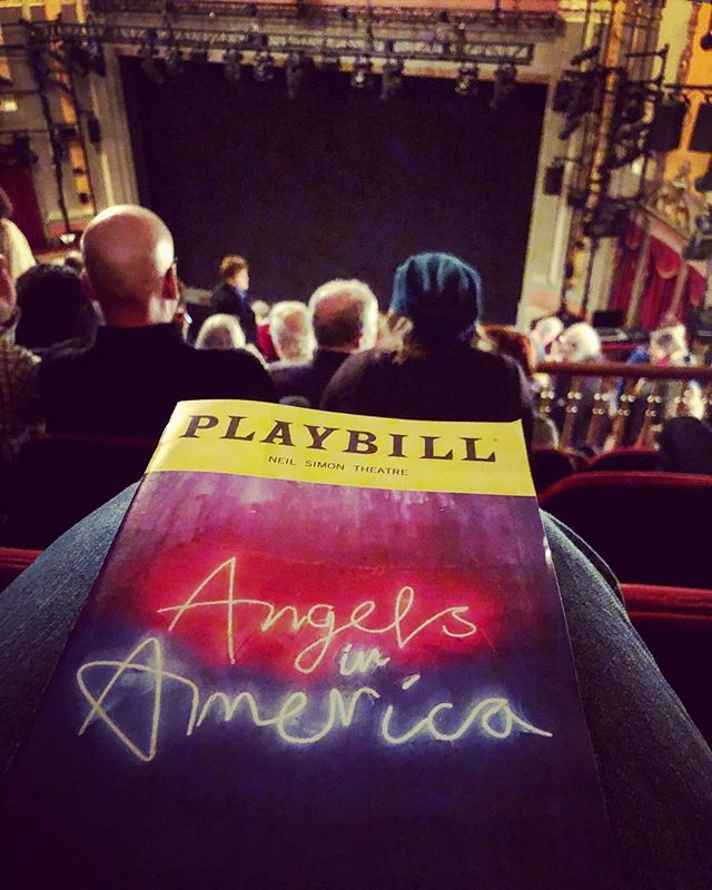 #playbill #AngelsinAmerica #NeilSimonTheatre #Broadway #play #TonyKushner #revival Life becoming complete with this...