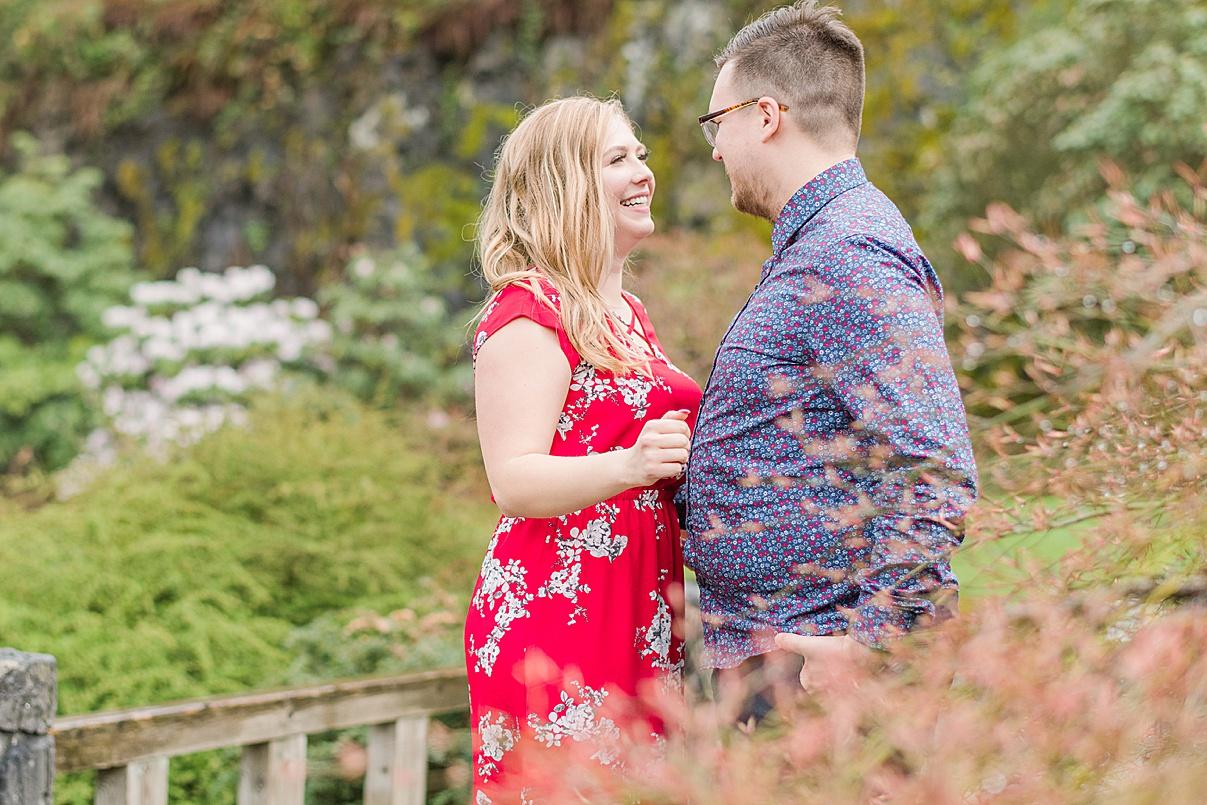 Birmingham Wedding Photographer Cherry Blossom Engagement Photo Session