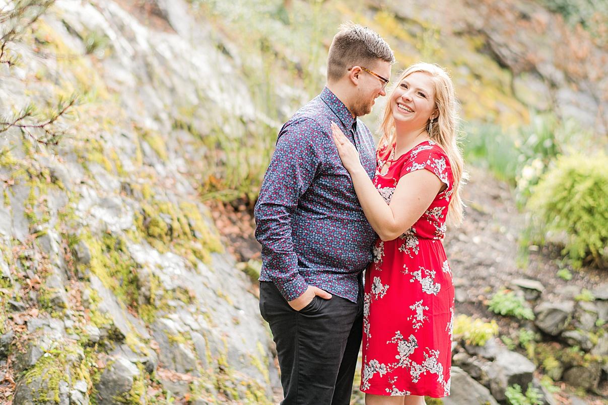 Wedding Photographer Birmingham Cherry Blossom Engagement Photo Session