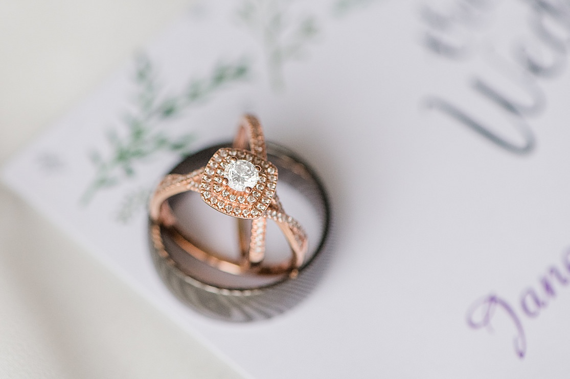 West Midlands Wedding Photographer | Janessa & Cameron's Wedding ring details