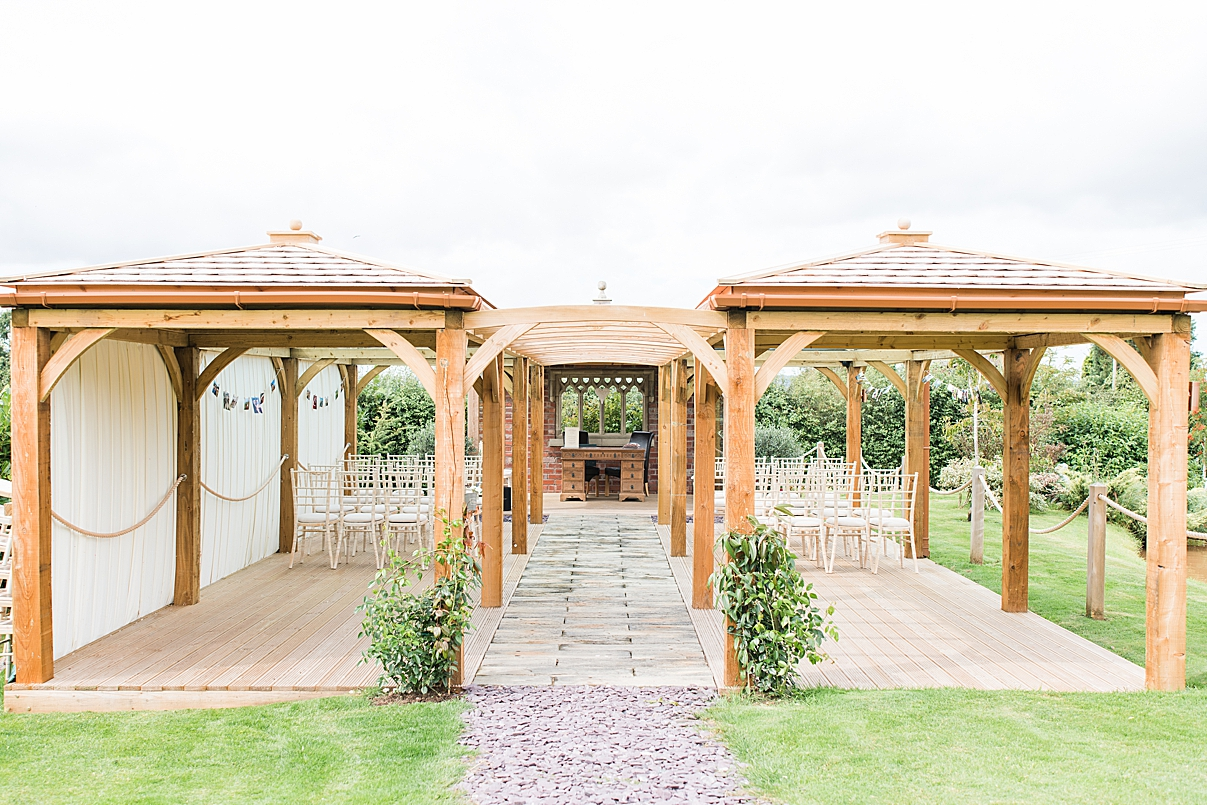 ceremony venue wedding in Shropshire by West Midlands Wedding Photographer