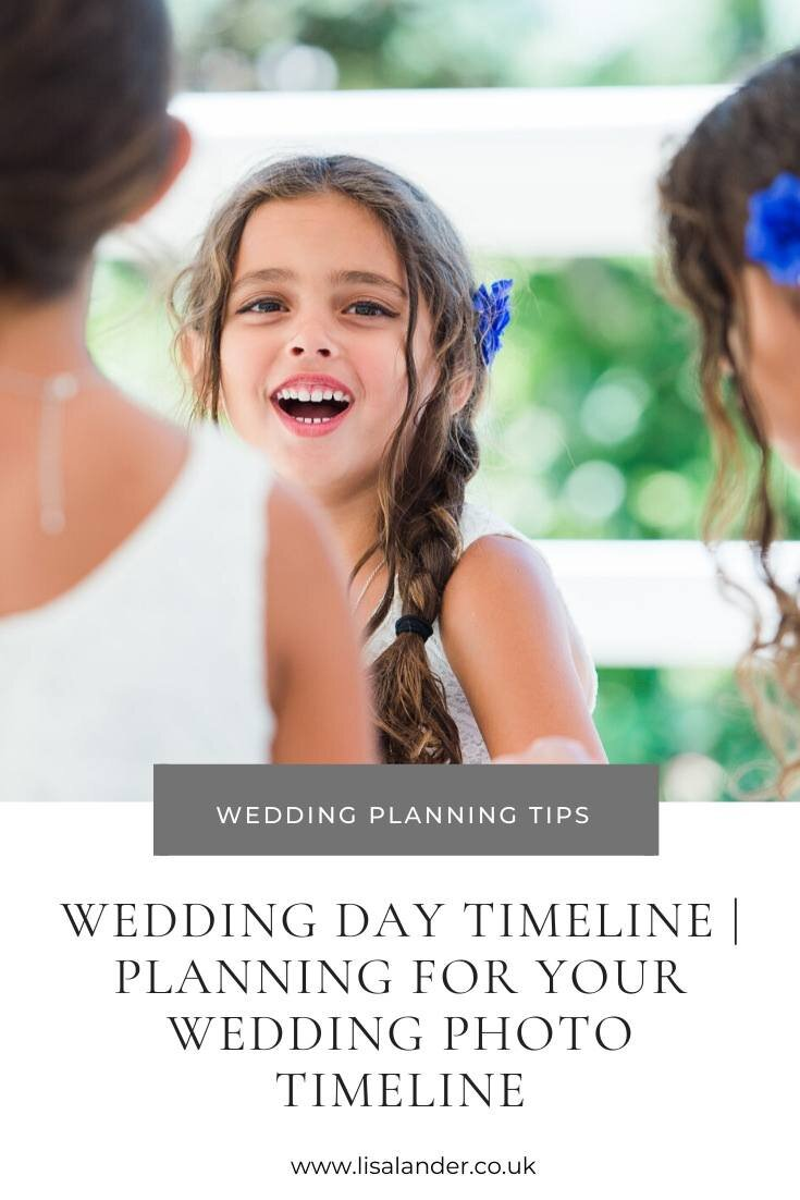 How To Plan Your Wedding Day Timeline A Step By Step Guide