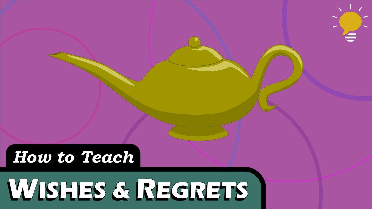 Wishes & Regrets - Sometimes we talk about things that aren't true … maybe how we wish things were or had been different. For that, we need a slightly different grammar structure.