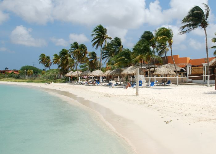 Surfside beach Aruba