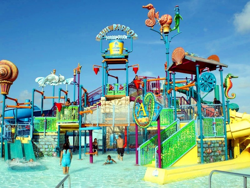The palm island waterpark