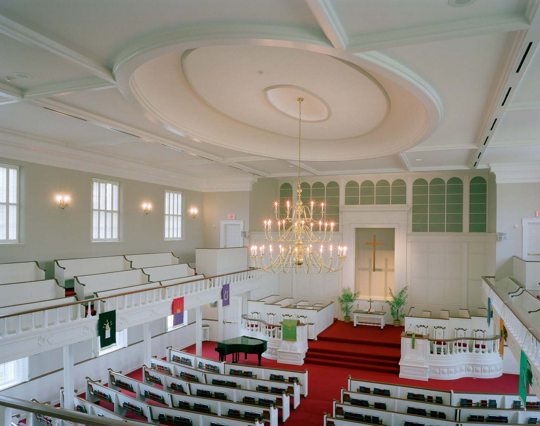 Second Baptist Church - Sanctuary Restoration