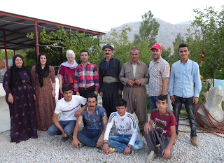 The residents of Kani Spi and CPTers in Kani Spi, Iraqi Kurdistan.Photo by: Julie Brown.