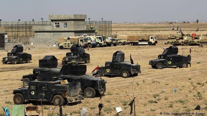 *Photo- Iraqi forces in Kirkuk - Dw.com