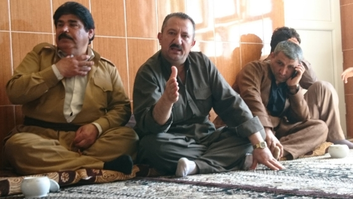 Father of one of the bombing victims telling CPTers about his son