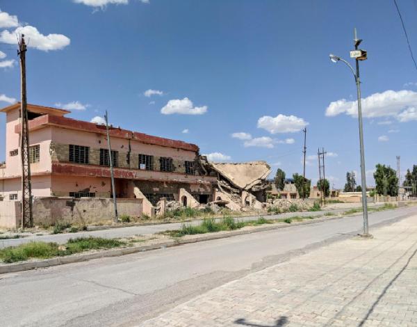 Quaraqosh, Iraq in Nineveh Plain Photo: Weldon Nisly.