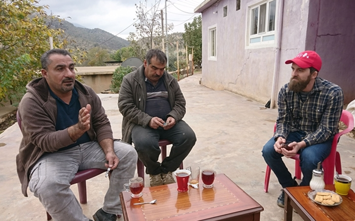 Mr. Zeya and Mr. Ashur share with CPT the impact that Turkish bombardments have on the life in Chame Rebatke.