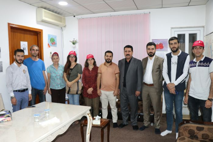 Some of the civil society activists arrested in January for planning to gather peacefully after Turkish military killed civilians met with CPT on a Ramadan night   .