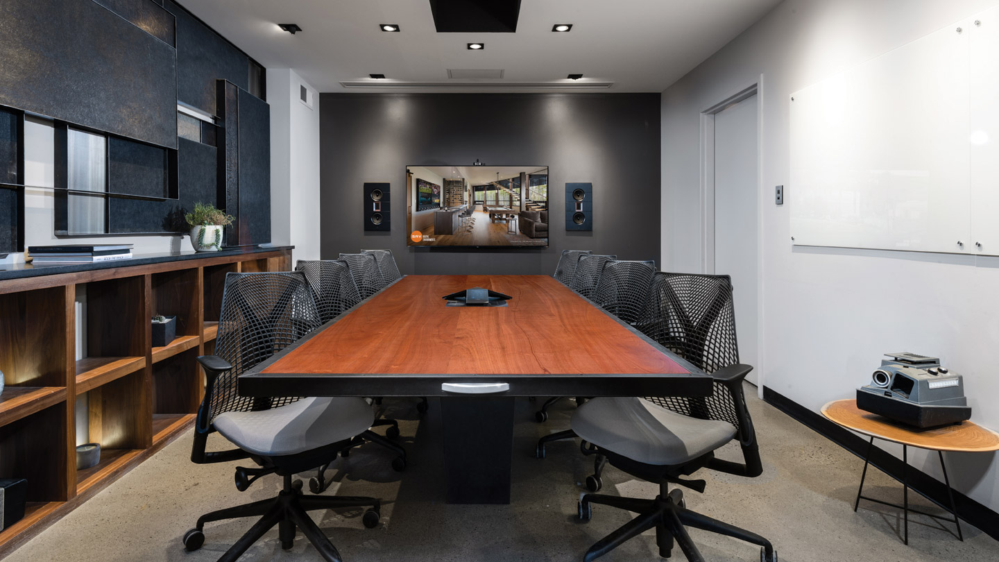 Conference Room: 4k Digital Media Control, Display Tiling, Network, VoIP Phone System, Video Conferencing, Structured Cabling...