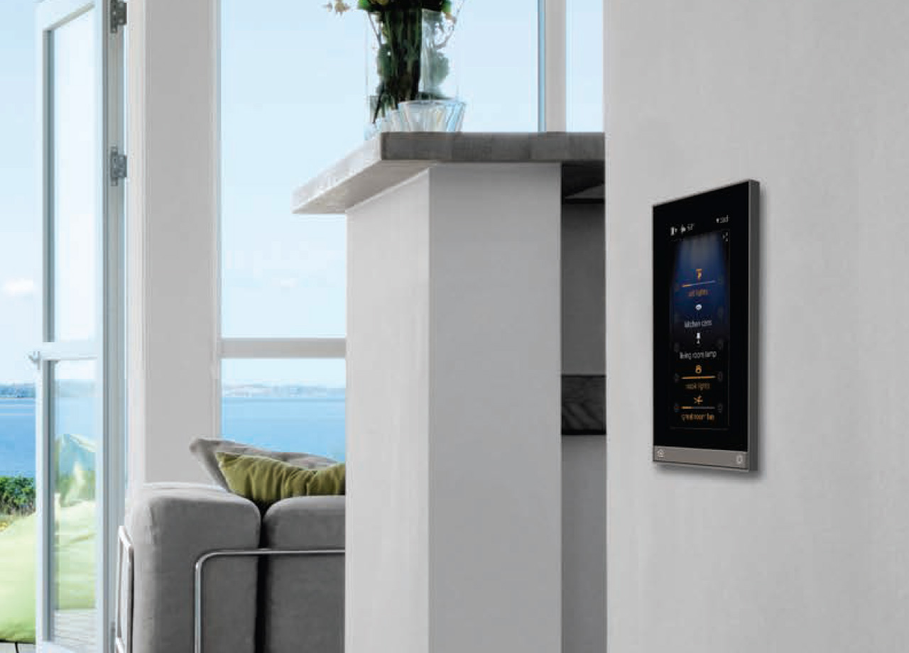 Pictured: Vantage Equinox Smart Touch Panel